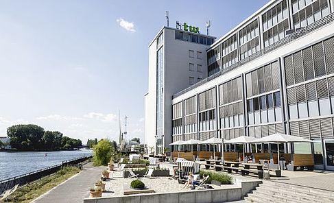 Bild Wilhelminenhof Campus HTW Berlin, Fotograf: Nicolas Fahlbusch