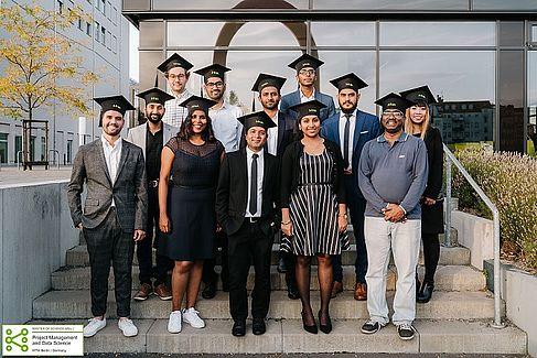 MPMD Graduation ceremony 2019, Copyright HTW Fotograf
